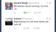 #frerard #mcr  #frankiero #gerardway