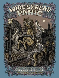 OMG Posters! » Archive New Marq Spusta Widespread Panic Poster ...