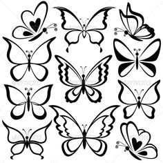 Ideas Tattoo Butterfly Outline White Ink For 2019