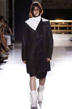 Rick Owens Spring 2015 Menswear Collection Slideshow on Style.com