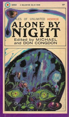 Alone by Night, cover art by Richard Powers