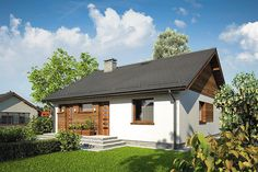 Projekt domu Remik Max 93,15 m2 - koszt budowy - EXTRADOM