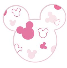 Minnie Mouse Stickers, Mickey E Minnie Mouse, Mickey Mouse Cartoon, Mickey Head, Mickey Party, Wallpaper Do Mickey Mouse, Disney Wallpaper, Scrapbook Da Disney, Images Disney