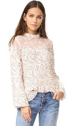 Jojo Fletcher Kept It Easy Breezy In This Pink Tie Dye Drawstring Front Blouse Pink Long Sleeve Tops, Mesh Long Sleeve, Pink Tops, Floral Tops, Floral Blouse, Pink Mesh Top, Photographer Outfit, Moon River, Fashion Design