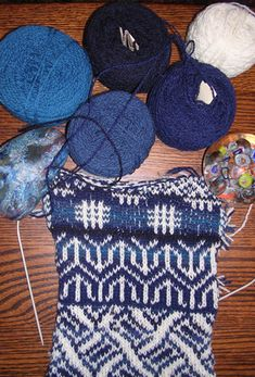 Feral Knitter: Getting Started with Fair Isle Knitting