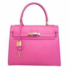 Attavanti - Carbotti Bellezza Compact Grab Handbag - Pink, £148.00 (http://www.attavanti.com/handbags/carbotti-bellezza-compact-grab-handbag-pink/)