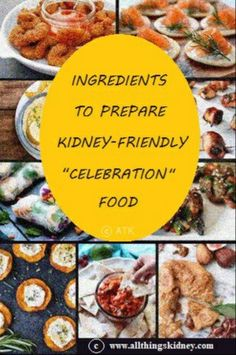 """#renal #diet or #kidney friendly diet comes with its own set of unique """"rules"""". Since kidneys """"balance out"""" all #blood components, #renaldiet advised in #kidneydisease is supposed to assist unwell kidneys with this very crucial function. But does that mean kidney warriors need to shun party food? Of course not! Just replace regular ingredients with kidney friendly alternatives! Click on the image to access the list of kidney safe alternatives across various food categories & go creative! Blood Components, Renal Diet, Kidney Health, Food Combining, Everything Is Possible, Health Challenge, Food Categories, Kidney Disease, Group Meals"""