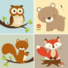 image result for free printable forest animal silhouettes - Free Printable Pictures Of Animals