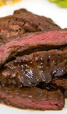 Grilled Tri-Tip Steak with Molasses Chili Marinade | Recipe