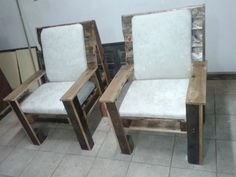 How to Build Wooden Pallet Chairs | Pallet Furniture