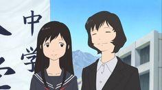 wolf children yuki and souhei kiss - Google Search