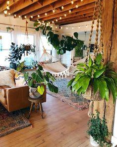Home Interior Design - New stylish bohemian home decor - Einrichtungstipps - Home Design, Home Interior Design, Bohemian Interior Design, Stylish Interior, Interior Designing, Modern Design, Design Ideas, Bohemian House, Bohemian Style
