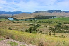 Flathead River from the National Bison Range - Visit Missoula, Montana