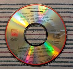 Compact Command Performances: 15 Greatest Hits by Marvin Gaye (CD, Motown) #Motown