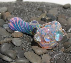 Inside out color changing glass pipe AMERICAN by FarmhouseGlass, $30.00
