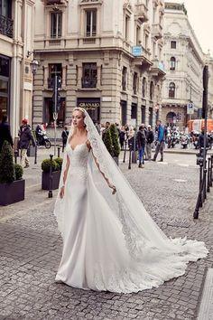 Eddy K Milano Style MD201 - Sheath Straps wedding dress | itakeyou.co.uk #weddingdress #wedding #weddingdresses #weddinggown #bridalgown #bridaldress #weddinggowns #engaged