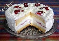Epres fehér csoki torta Hungarian Recipes, Hungarian Food, Cold Desserts, Cake Pops, Nutella, Cravings, Cake Recipes, Raspberry, Cheesecake