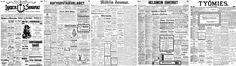 Kansalliskirjasto on digitoinut Suomessa vuosina 1771 - 1910 ilmestyneet sanomalehdet, ja ne ovat vapaasti käytössä tämän palvelun kautta.Tekijänoikeuden alaista aineistoa digitoidaan yhteistyössä esim. lehtitalojen kanssa.