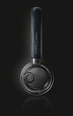 Philips Fidelio on-ear bluetooth headphones by Philips Communications, via Flickr