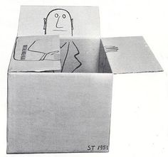 Saul Steinberg, 1951. LABELS: ART, BOXES, SAUL STEINBERG http://evencleveland.blogspot.it