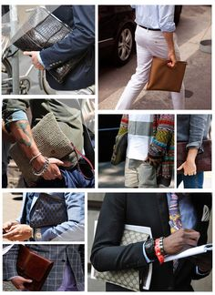 TO BAG OR NOT TO BAG: POCHETTE E CLUTCH DA UOMO