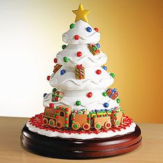 Animated Musical Gingerbread Tree