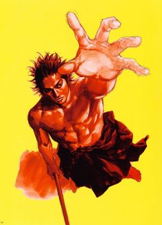 Takehiko Inoue, Vagabond, Art of Vagabond: Water, Musashi Miyamoto (Vagabond) Manga Anime, Anime Art, Sprites, Basketball Manga, Martial Arts Manga, Vagabond Manga, Inoue Takehiko, Miyamoto Musashi, Western Comics