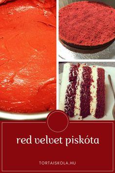 Red velvet piskóta Tiramisu, Red Velvet, Cupcake, Ethnic Recipes, Food, Cupcakes, Eten, Cupcake Cakes, Tiramisu Cake