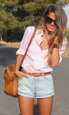 Look: Camisa Listrada + Acessórios