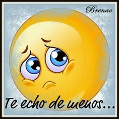 I miss you a lot Animated Emoticons, Funny Emoticons, Emoji Images, Emoji Pictures, Whatsapp Smiley, Funny Emoji Faces, Spanish Inspirational Quotes, Emoji Love, Amor Quotes