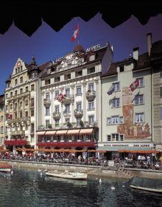 Hotel Des Alpes, Luzern / Lucerne
