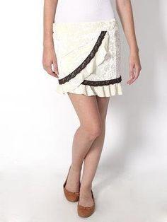 b098d8366e Preciosa Falda Blanca Kawaii Moda Asiatica en Mercado Libre México