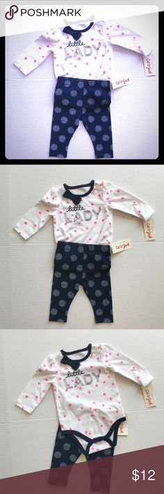 NWT Cat & Jack outfit! Size 3-6 months, adorable new outfit! Cat and Jack Matching Sets