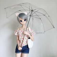 """""""Kawaii Chitonyan ready for any sudden weather changes! #smartdoll #puppy52dolls #kawaii"""""""