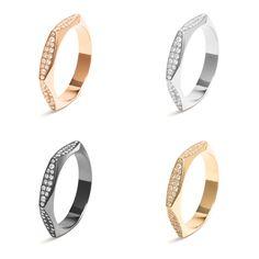 #MelissaKayeJewelry Rhona #ring in #18k #gold with #diamonds #jewelry #finejewelry #yellowgold #whitegold #pinkgold #blackgold #fashion #style