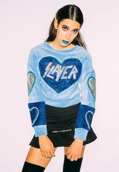 Slayer+cropped+jumper
