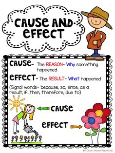 Are you looking for ways to teach cause and effect? I hope some of these will be helpful to you!        First, offer an anchor chart. Tell...