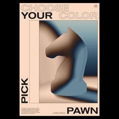 ♟♻️ Choose your color, Pick your pawn — For the open day 2018 identity at @royalacademyofart.thehague I pitched a series of pawn figures. The style wasn't picked, so I decided to create some posters with these same figures.  #graphicdesign #graphic #poster #design #type #typography #posterdesign #pawn #thedesignblacklist #collectgraphics #danktype Color Pick, Type Design, All Design, Design Elements, Photoshop Design, Speed Form, Typography Poster, Photomontage, Zine