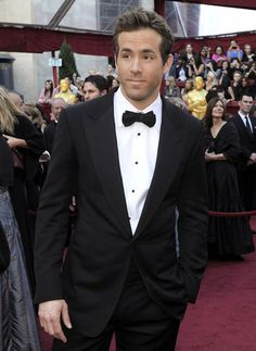 Tom Ford tux with wide lapel