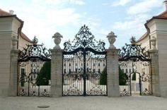 Fertőd.Kastélykapu Louvre, Building, Palaces, Painting, Castles, Traveling, Architecture, Hungary, Viajes