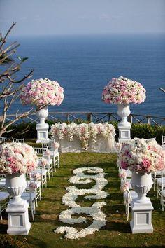 El lugar ideal para la boda.