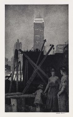 Martin Lewis: Manhattan Lights (1931)
