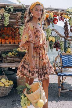 70s Inspired Fashion, 70s Fashion, Fashion Outfits, Dress Fashion, Hippie Fashion, Gothic Fashion, Fashion Ideas, Outfits Hippie, Looks Hippie