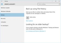 2 Ways to Backup Windows 10 Files Are Introduced here