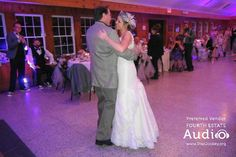 "In keeping with the vintage wedding theme, Megan and her grandfather danced to Nat King Cole's 'Unforgettable."" http://www.discjockey.org"