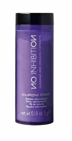 No Inhibition Volumizing Powder. #hair #product #beauty #hairstyle