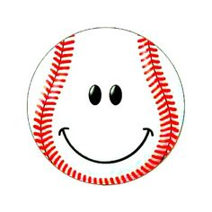 Shop Baseball Face Classic Round Sticker created by tshirtmonkey. Smileys, Face Stickers, Round Stickers, Sports Emojis, Happy Smiley Face, Emotion Faces, Smiley Emoji, Smile Face, Brighten Your Day