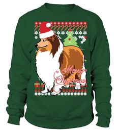 2ac004502 Collie Christmas Sweater . Limited Time Only - Not available in stores.  This WILL