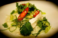 Coconut and Lime Poached Chicken