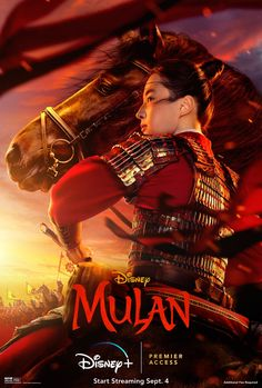 """There is no courage without fear."" Start streaming Disney's Mulan September 4 exclusively on Disney+l with Premier Access. For more info: DisneyPlus.com/Mulan Live Action, Disney Punk, Disney Live, Watch Mulan, Rapunzel Disney, Dreamworks, Films Netflix, Film Vf, Cartoon Network"